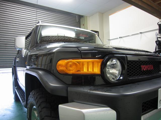 トヨタ FJクルーザー防錆塗装